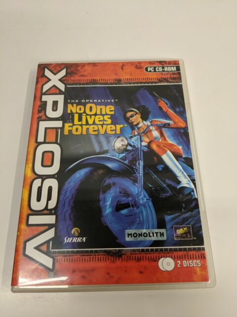The Operative: No One Lives Forever PC Game Box Only, Monolith 2000, L441