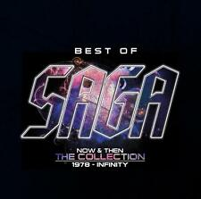 Saga - Best of-Now and Then-the Collection - CD
