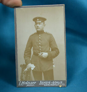 CDV-Foto-German-Army-Deutsches-Heer-Soldier-106th-Saxon-Infantry-Regiment-c1900