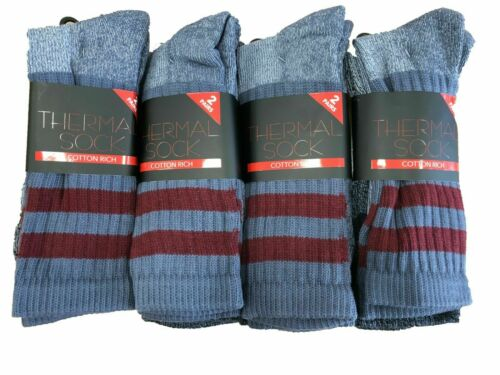 Thick Winter Warm Thermal Men Heavy Duty Work Boot Socks Outdoor Pack 2