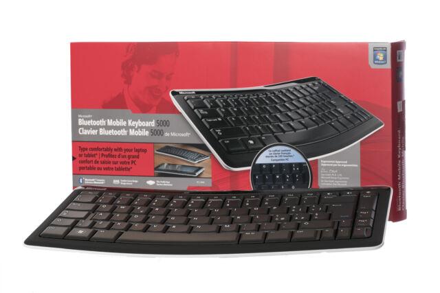 Clavier Microsoft Bluetooth Mobile 5000 (français) T4L-00007