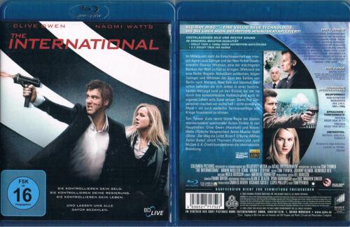 1 von 1 - THE INTERNATIONAL --- Blu-ray --- Actionthriller --- Clive Owen --- Naomi Watts
