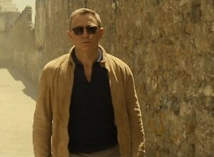 JAMES-BOND-SPECTRE-BROWN-BLOUSON-MOROCCO-REAL-SUEDE-LEATHER-JACKET