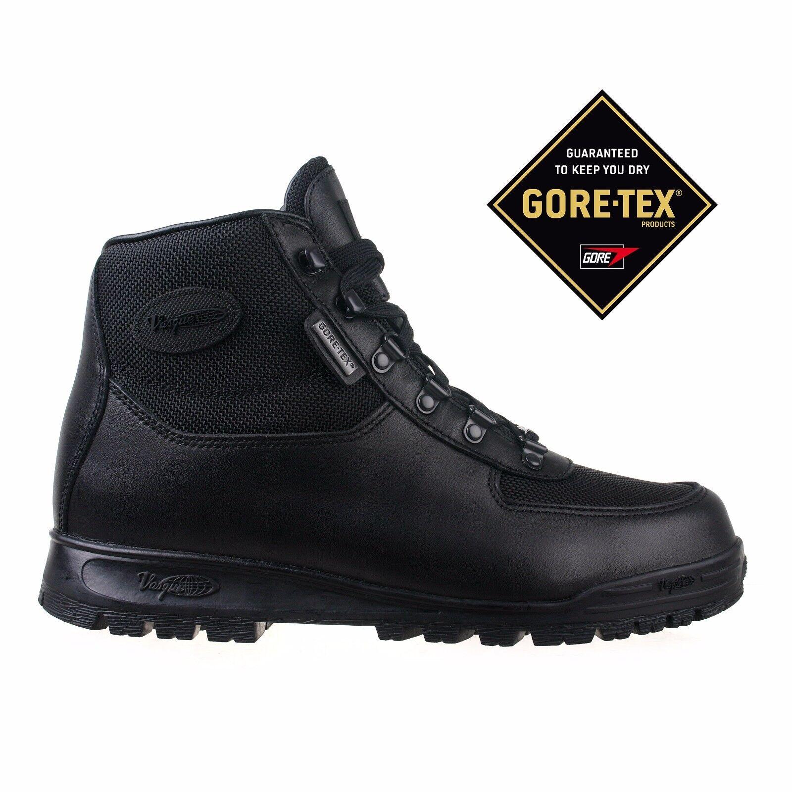 Vasque Mens stivali Gore-tex nero Skywalk Leather 7052