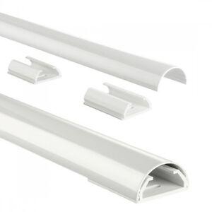 Hama 2x Mini Kabel-Kanal Kabel-Tunnel für TV LED LCD Plasma Beamer PC EDV AV etc