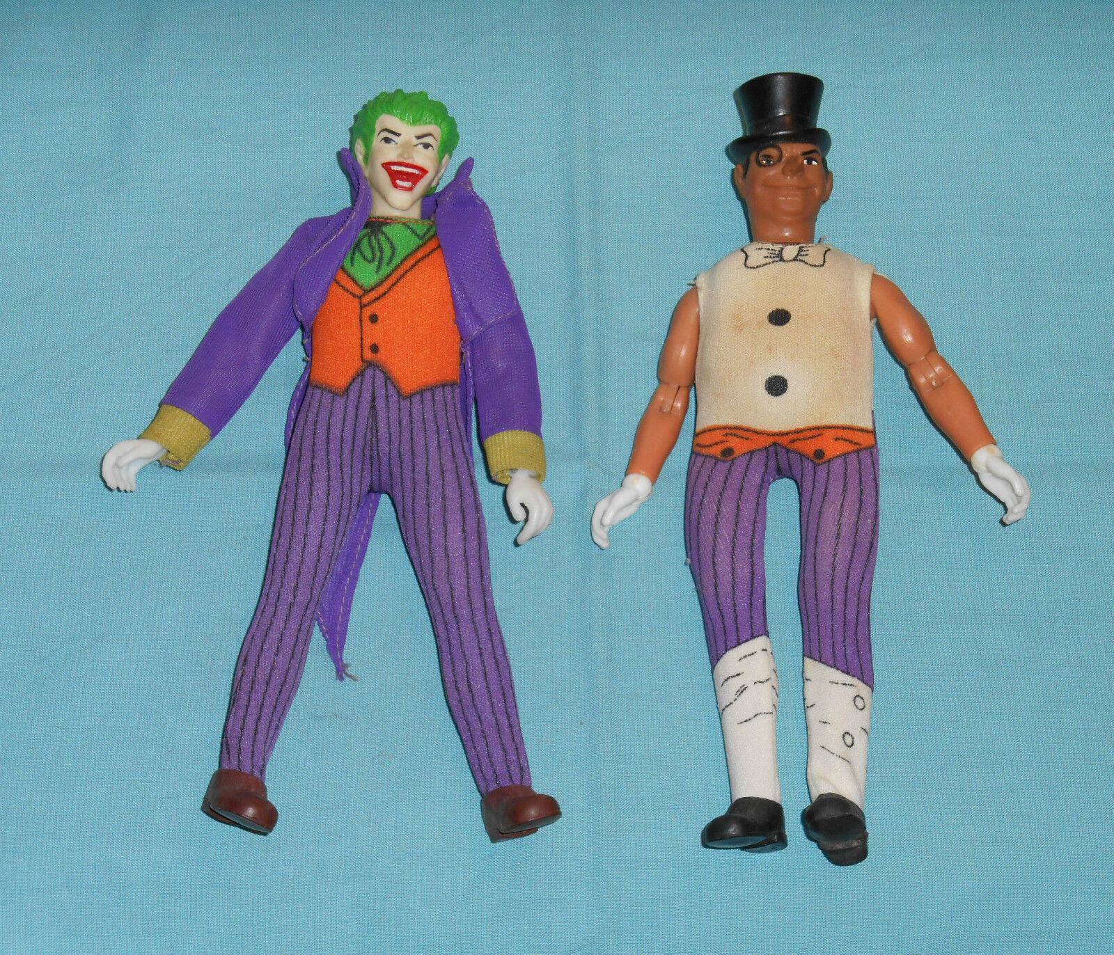 Vintage Mego WORLD'S GREATEST SUPER-HEROES WGSH JOKER &PENGUIN LOT  2 incomplete
