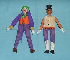 vintage Mego WORLD'S GREATEST SUPER-HEROES WGSH JOKER &PENGUIN LOT #2 incomplete