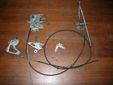 Mercedes Benz SL R 107 Soft Top Convertible Hatch Cover Lock and Cables