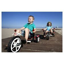 MOBO TOT WHITE RED~BOYS GIRL ERGONOMIC 3 WHEELED CRUISE~BIKE RIDE ON TRIKE+LIGHT