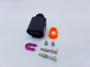 1J0 973 702-2 Pin Female  Connector Kit 1J0973702 VW AUDI SEAT SKODA  VAG