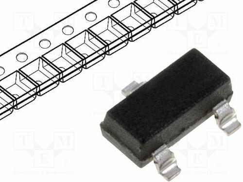 NPN bipolar 40V 200mA 350mW SOT23 MMBT3904-13-F NPN SMD-Transistoren Transistor