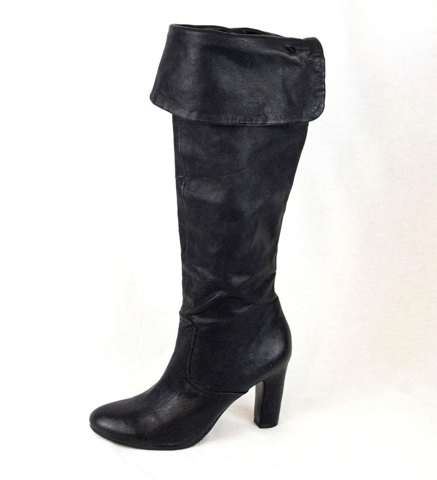 Sam Edelman Stiefel Tall Leder  Sz 9.5 Sarah Sarah Sarah Fully Lined Knee Height 20 in EU 40 22e1d1