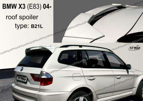SPOILER REAR ROOF TAILGATE BMW X3 E83 BRAND WING ACCESSORIES for 2004