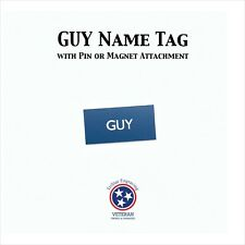 Free Guy Name Tag Halloween Costume Movie Cosplay Name Badge Free Shipping