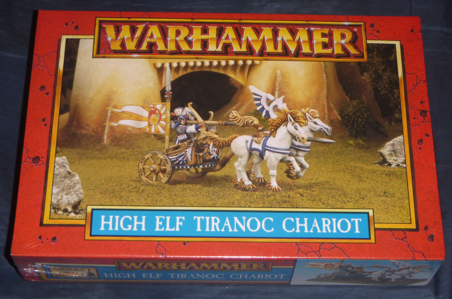 High Elf Tiranoc Chariot   Warhammer {NEW-SEALED-SHRINK} RARE  OOP