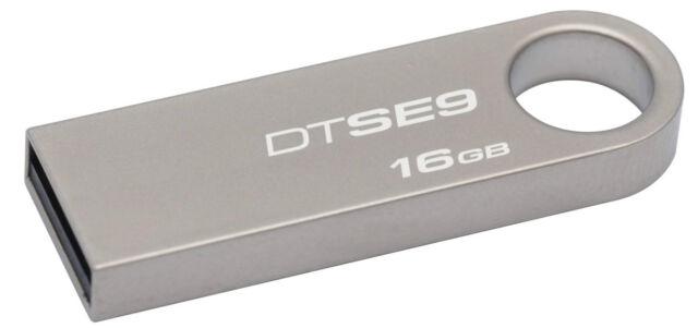 Kingston DataTraveler SE9 16 GB USB 2.0 Pen Drive 16GB Pendrive