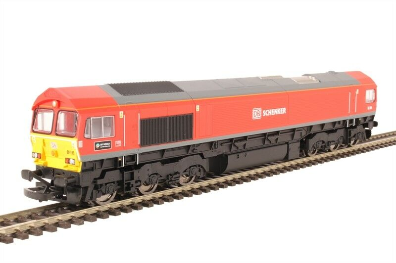 Hornby R3486 HO 00 Scale Co-Co Diesel 'DP World London Gateway' '66185' Class 66