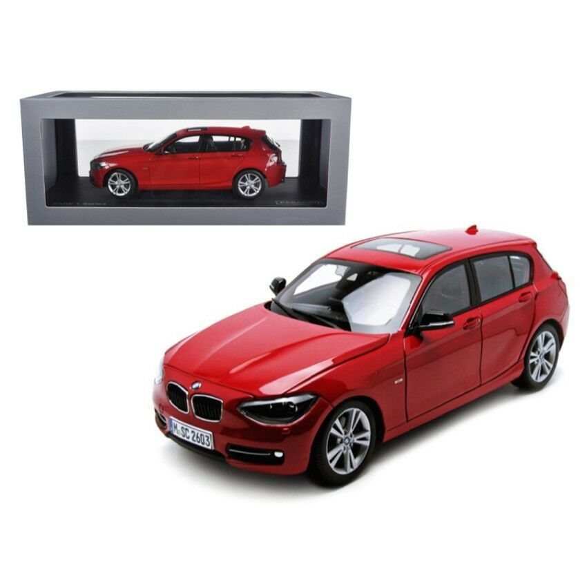 BMW F20 1 Series rosso 1/18 Diecast Car Model by Paragon