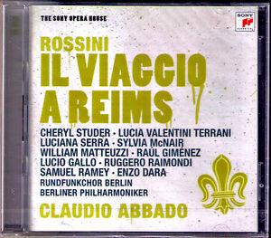 ROSSINI-IL-VIAGGIO-A-REIMS-McNair-Serra-Ramey-Studer-Raimondi-Dara-ABBADO-2CD