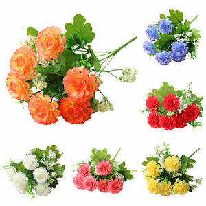 Am-ITS-1Pcs-Artificial-Flower-DIY-Garden-Stage-Party-Home-Wedding-Craft-Decor