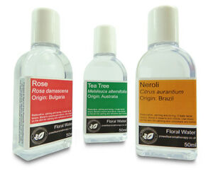 50ml-Floral-Water-Pure-Aromatherapy-Essential-Hydrosol-amp-Hydrolat-11-Types