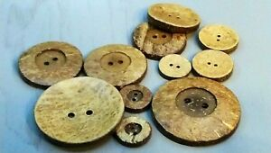 Coconut-Shell-Wooden-2-Hole-Buttons-51mm-38mm-34mm-25mm-20mm-or-18mm