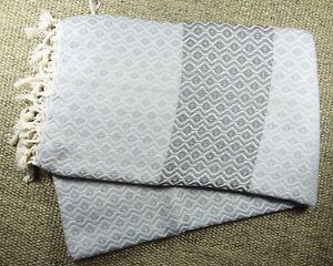 Morganicsbeauty-Su-Turkish-Hammam-Peshtemal-Beach-Towel-Gray-amp-Silver-100x170cm