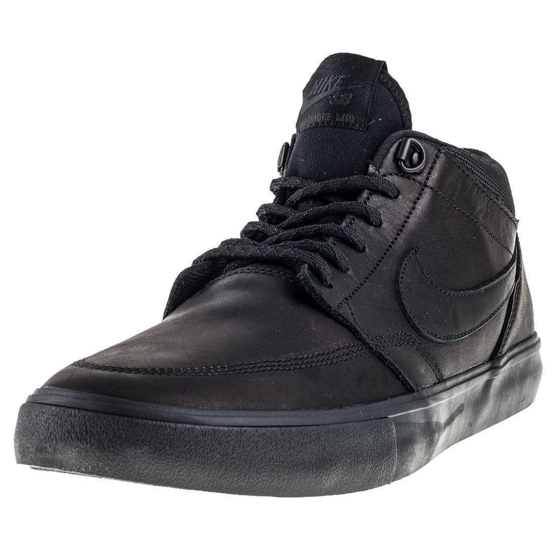 Nike Men's SB Portmore II Solar MD P Black/Anthracite Skate Shoe 11.5 MSRP: