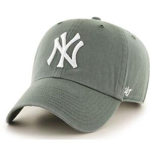 Caricamento dell immagine in corso 47-Nuovo-MLB-NY-Yankees-RIPULIRE-cappello -verde- b4f208b03c96