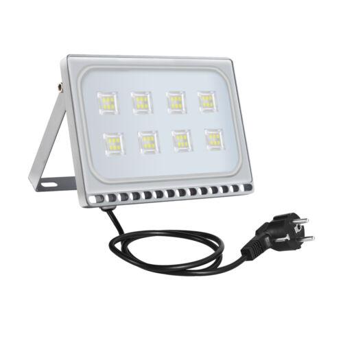 LED Fluter 10-500W Strahler Scheinwerfer Baustrahler Außenleuchte Garten IP65