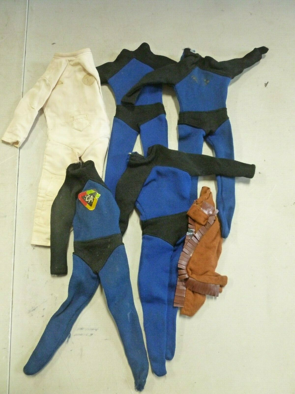 Lot  of 5 Captain Action Outfits (1)  économiser jusqu'à 70% de réduction