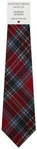 2019 DernièRe Conception Homme Clan Tie Made In Scotland Macbean Modern Tartan Service Durable