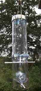 Deluxe mangime per uccelli stazione mangiatoia casetta 35cm MANGIME DISPENSER MANGIME pilastro  </span>