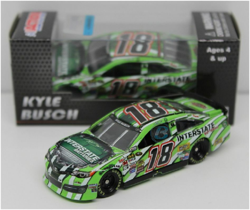 NASCAR KYLE BUSCH INTERSTATE BATTERIES LEGACY TOYOTA 1 64 CAR