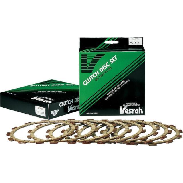Vesrah Fiber Friction Clutch Plates Ninja ZX-6R ZZR600 ZZR 600 Z 750 800 VC-487