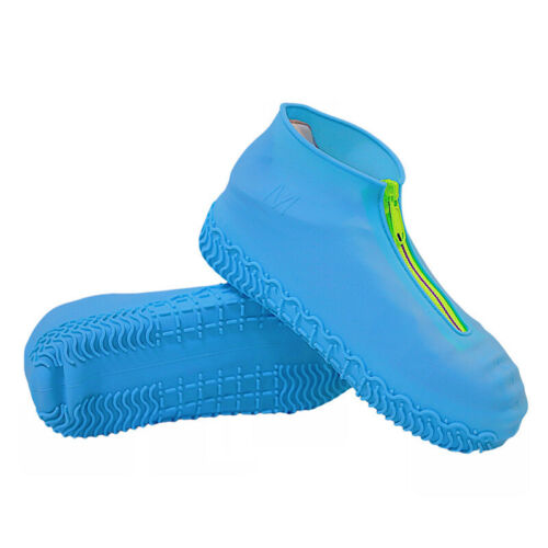 Outdoor Zipper Anti-skid and Rainproof Silicone Shoe Cover for Adults //Children