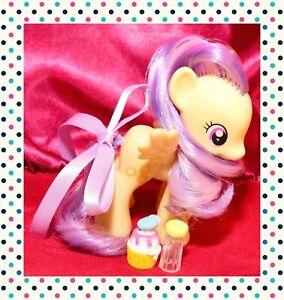 ❤️My Little Pony Brushable Sunny Rays Yellow Sun Pegasus Purple Hair 2012 G4❤️
