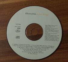 CD Elton John - Love Songs 1994