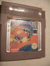 Retrogaming jeu GBA NINTENDO Game Boy Color ADVANCE BURAI FIGHTER Deluxe Testé