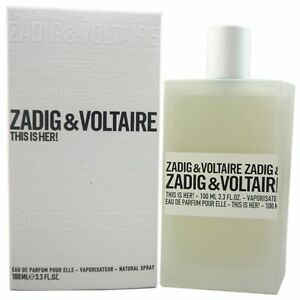 94805c9e7da Details about This is Her Zadig   Voltaire 3.3 oz 100 ml Eau De Parfum  Spray NIB For Women