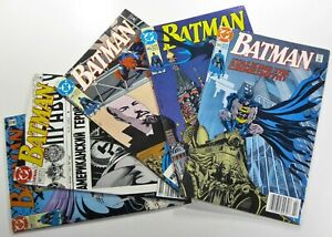 DC-Comics-BATMAN-1990-444-445-446-447-448-Copper-Age-LOT-Ships-FREE