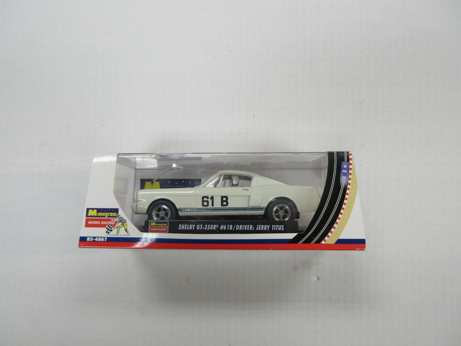 MONOGRAM SHELBY GT-350R JERRY TITUS 1 32 SCALE CAR IN BOX