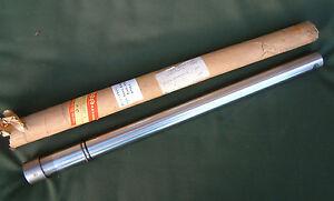 suzuki b100 b100p b120 b105 1966 nos new chrome fork stanchion