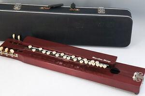 Japan Nardan Harp TAISHO GOTO KOTO Taisho Harp w/case Free Ship 590f01