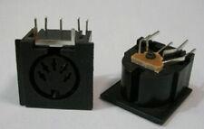 4x PCB Panel Mount MIDI Female DIN5 DIN 5-Pin Jack,D501