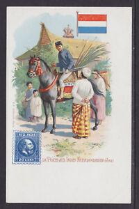 Kunzli-mint-PPC-La-Poste-aux-Indes-Neerlandaises-Netherlands-Indies-Java