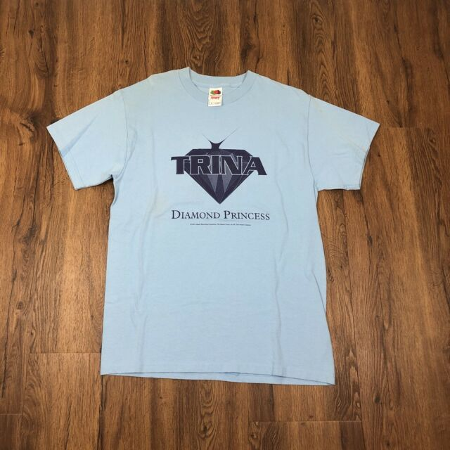 VTG NOS 2002 TRINA DIAMOND PRINCESS PROMO T SHIRT ATLANTIC RARE SLIP N SLIDE RAP