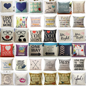 Cotton-Linen-Square-Home-Decorative-Throw-Pillow-Case-Sofa-Waist-Cushion-Cover