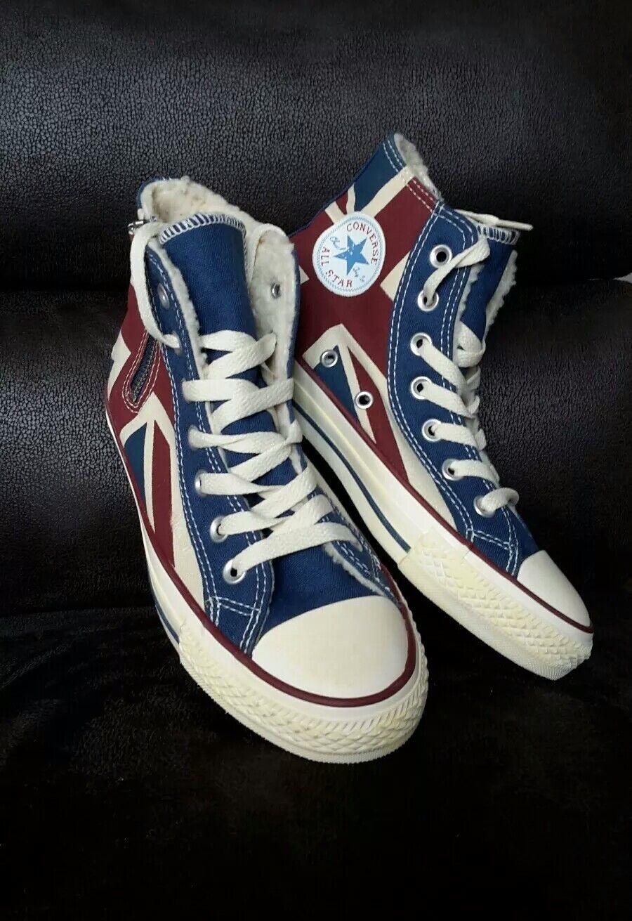 Converse All Star Chuck zapatos Inglaterra Flag nuevo