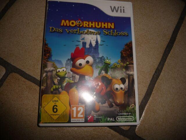 Moorhuhn: Das verbotene Schloss (Nintendo Wii, 2009, DVD-Box)